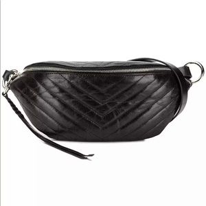 Rebecca Minkoff Women's Edie Quilted Belt Bag NWT
